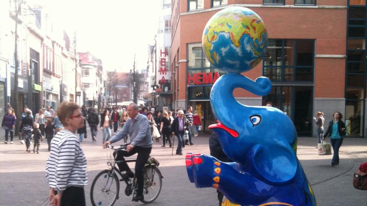 Heerlense olifanten helpen Zuid-Limburg