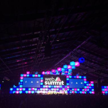 Hoofdpodium Web Summit 2015