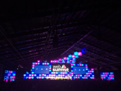 Hoofdpodium Web Summit 2015