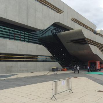 Pierres Vives in Montpellier, een ontwerp van architect Zaha Hadid.