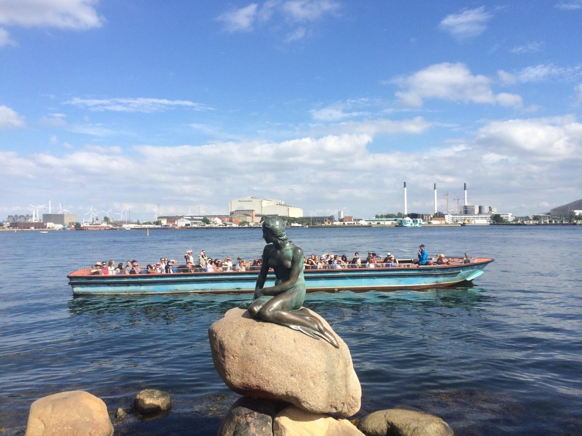 Keizer van het asfalt in Kopenhagen