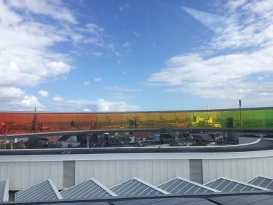 Regenboogpanorama op ARoS-museum.