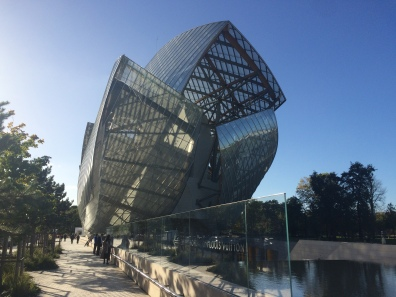Fondation Louis Vuitton in Bois de Boulogne.