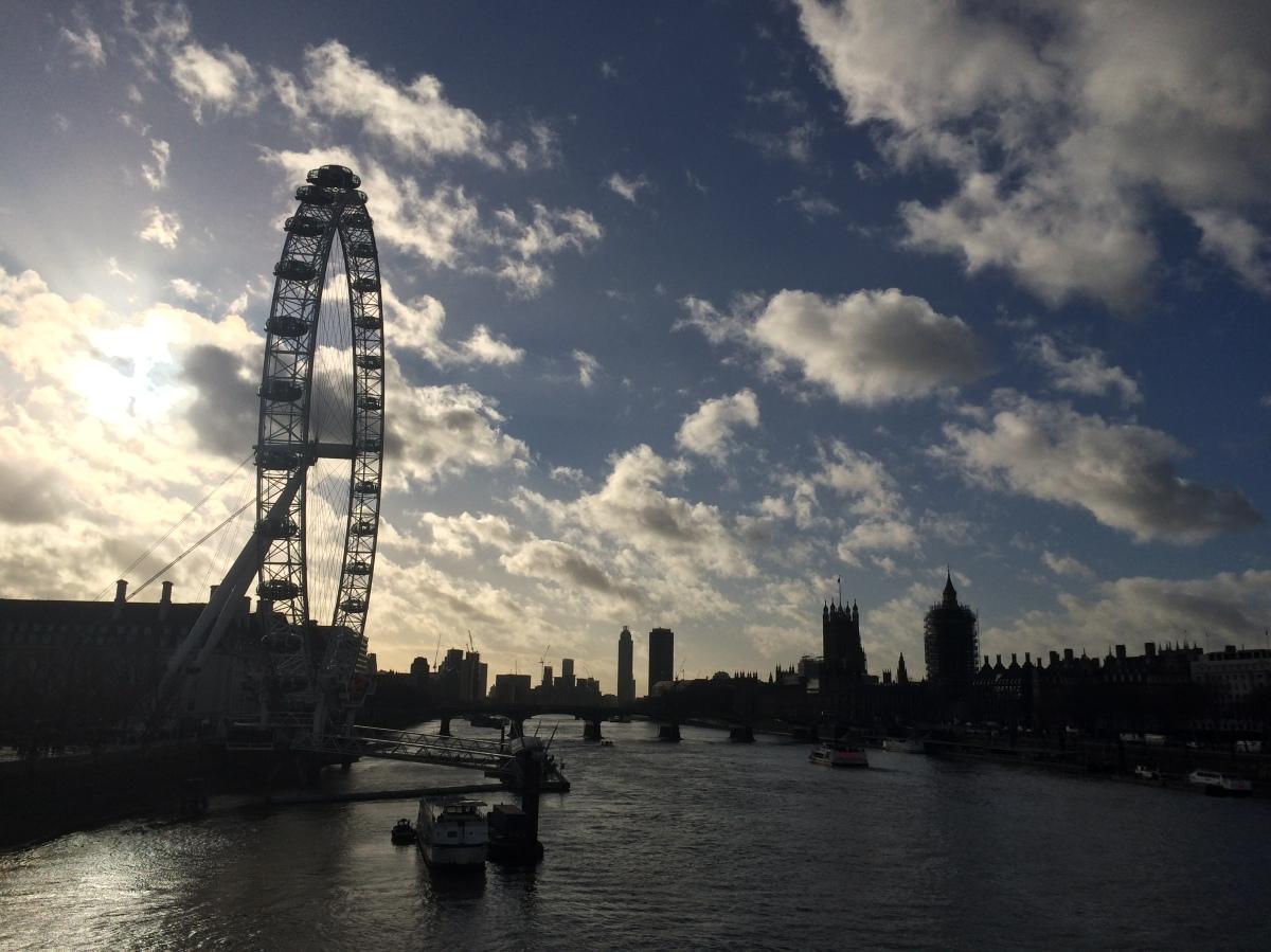 Redders van journalistiek in Londen