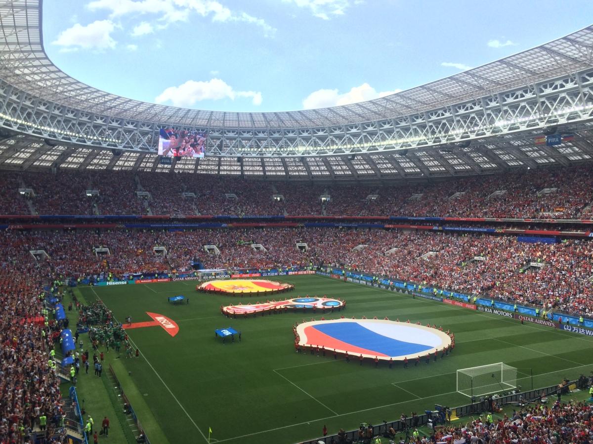 Luzhniki, Moskou en andere stadionverhalen