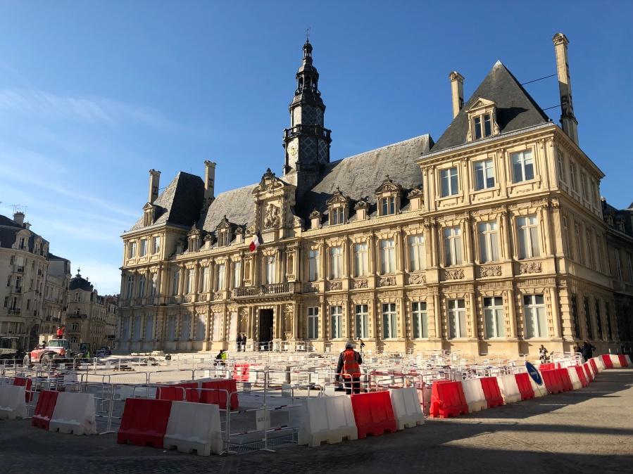 Hôtel de ville Reims